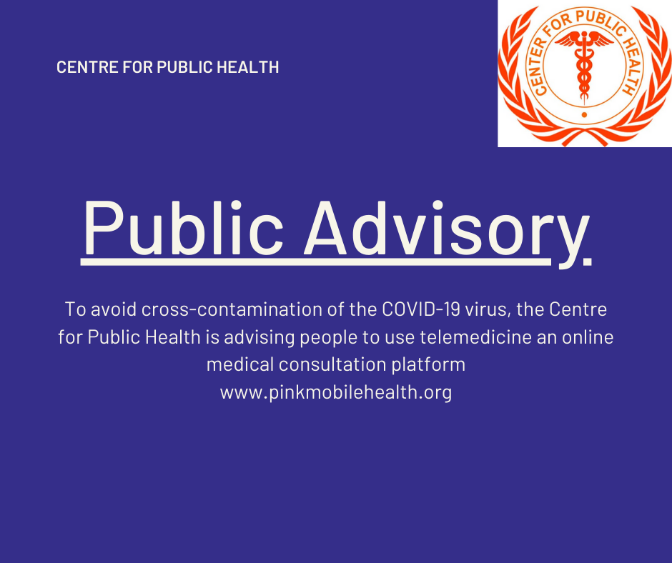 COVID 19: Medical online Consultation. Stay Safe